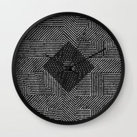 fifth harmony Wall Clocks featuring Harmony by Josh Franke