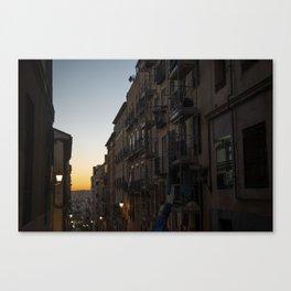 Romanticism in Madrid Canvas Print