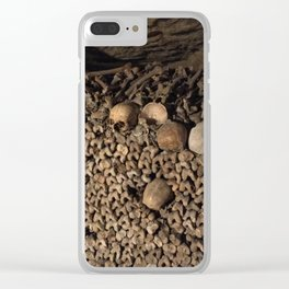 We Are All the Same in the End Clear iPhone Case