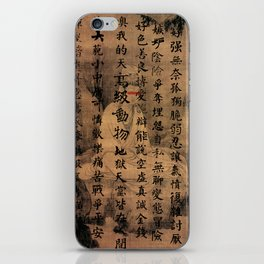 human being iPhone Skin