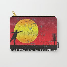 Vintage Disc Golf Billboard Carry-All Pouch