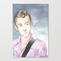 alex turner Canvas Prints featuring Alex Turner by SirScm