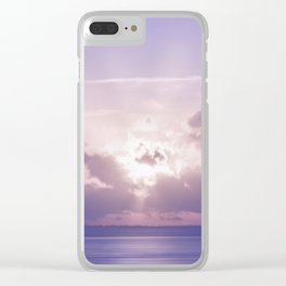 Nature of Art Clear iPhone Case
