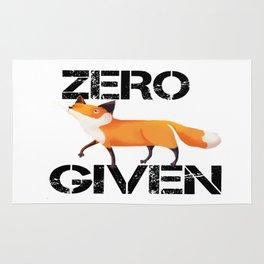 Zero Fox! Rug