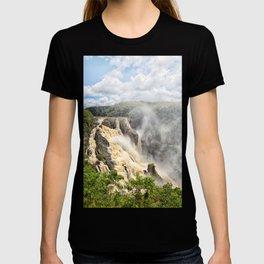 Barron Falls under a summer sky T-shirt