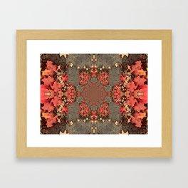 Kaleidoscope Heart Framed Art Print