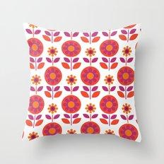 Hills & Daylesford Pink Throw Pillow