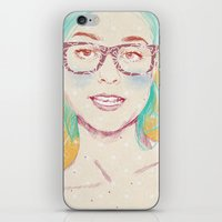 russian iPhone & iPod Skins featuring Russian Red by naranjalidad