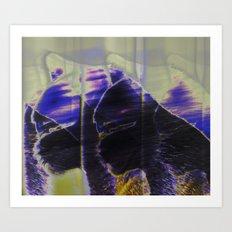 Essence of Cat Art Print