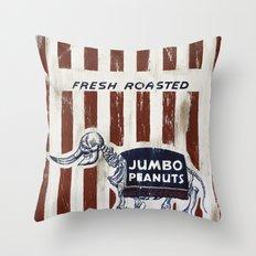 Jumbo Peanuts Throw Pillow