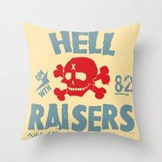 Hell Raisers Throw Pillow