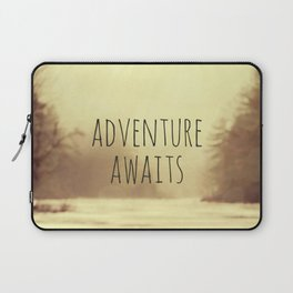 Adventure Awaits II Laptop Sleeve