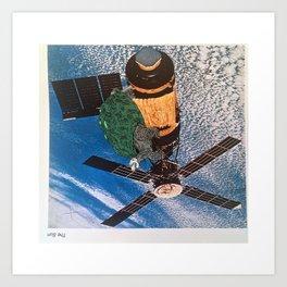 Turtle #5 (Satellite of Love) [Cecilia Lee] Art Print