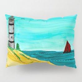 A Day At The Beach Pillow Sham