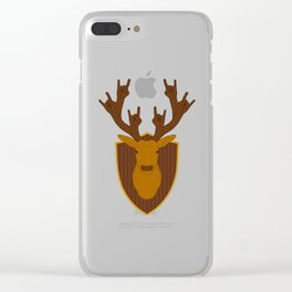 Rock Stag Clear iPhone Case