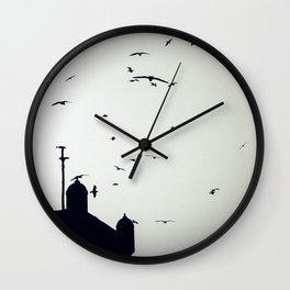 Morocco Rampart Wall Clock