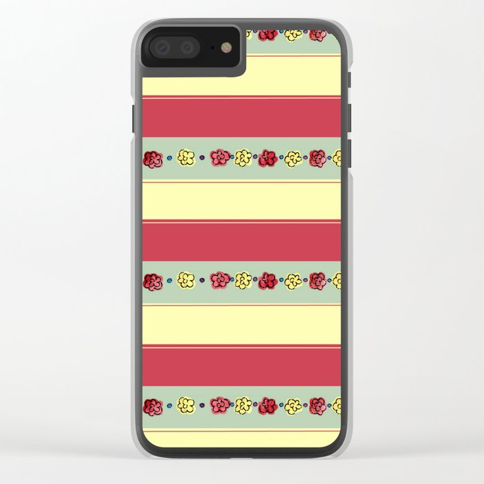 A Rosey Outlook Clear iPhone Case