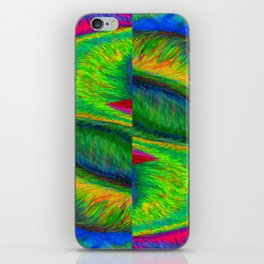 Zig When You Can Zag iPhone Skin