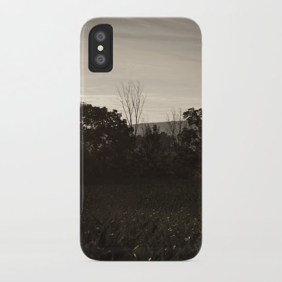 And In The Fields iPhone Case