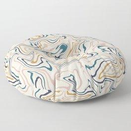 Abstract Swirl Floor Pillow