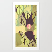 jungle Art Prints featuring Jungle by VessDSign