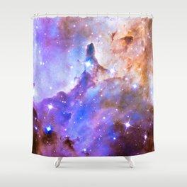 Intergalactic Stars Shower Curtain