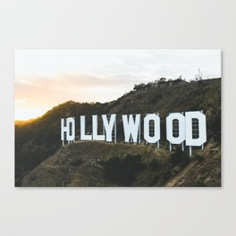 Hollywood Sign (Los Angeles, CA) Canvas Print