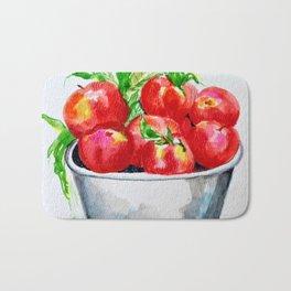 apple picking Bath Mat