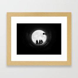 Fullpipe Wolves Framed Art Print
