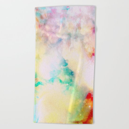 Fume Color Splash 03 Beach Towel