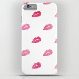 Lip Service  |  Ombre Watercolor Lips iPhone Case