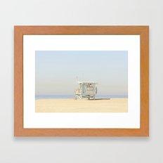 NEVER STOP EXPLORING VENICE BEACH No. 23 Framed Art Print