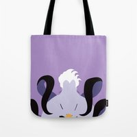 ursula Tote Bags featuring Ursula by Polvo