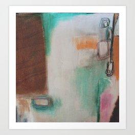 white space.  Art Print