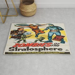 Vintage poster - Zombies of the Stratosphere Rug