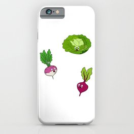 Let Us TurnVegan Healthy Lifestyle Living Fit Vegetarian Vegetables Lover For Fitness T-shirt Design iPhone Case