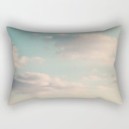 An endless affair with the upper atmosphere Rectangular Pillow