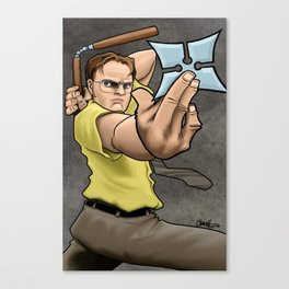 Ninja Dwight Canvas Print