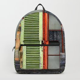 Window Shutters Backpack