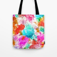 Koi Pond, Water Lilly Tote Bag