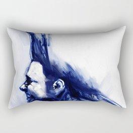 Blue Hawk Rectangular Pillow