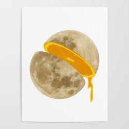 Lunar Moon Fruit Poster