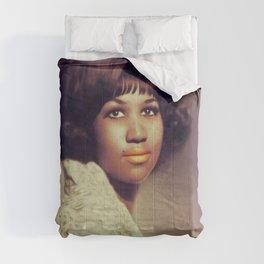 Aretha Franklin, Music Legend Comforters