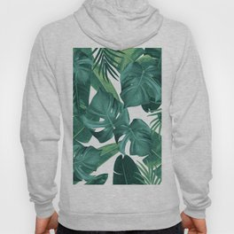 Tropical Summer Jungle Leaves Dream #2 #tropical #decor #art #society6 Hoody