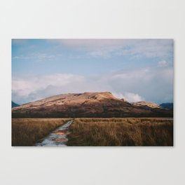 Trail through the Scottish Highlands Canvas Print
