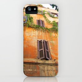 House in Trastevere iPhone Case