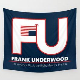 Full FU Logo Wall Tapestry
