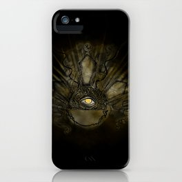 Eye of Justice iPhone Case