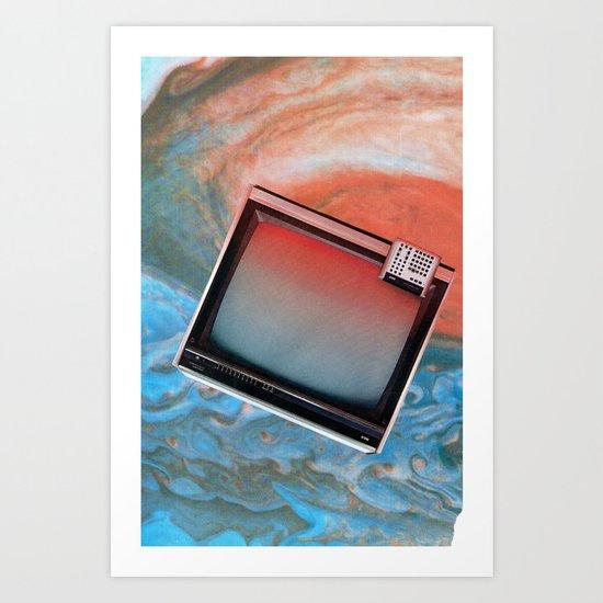 static flow Art Print
