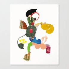 A Running Fella Canvas Print